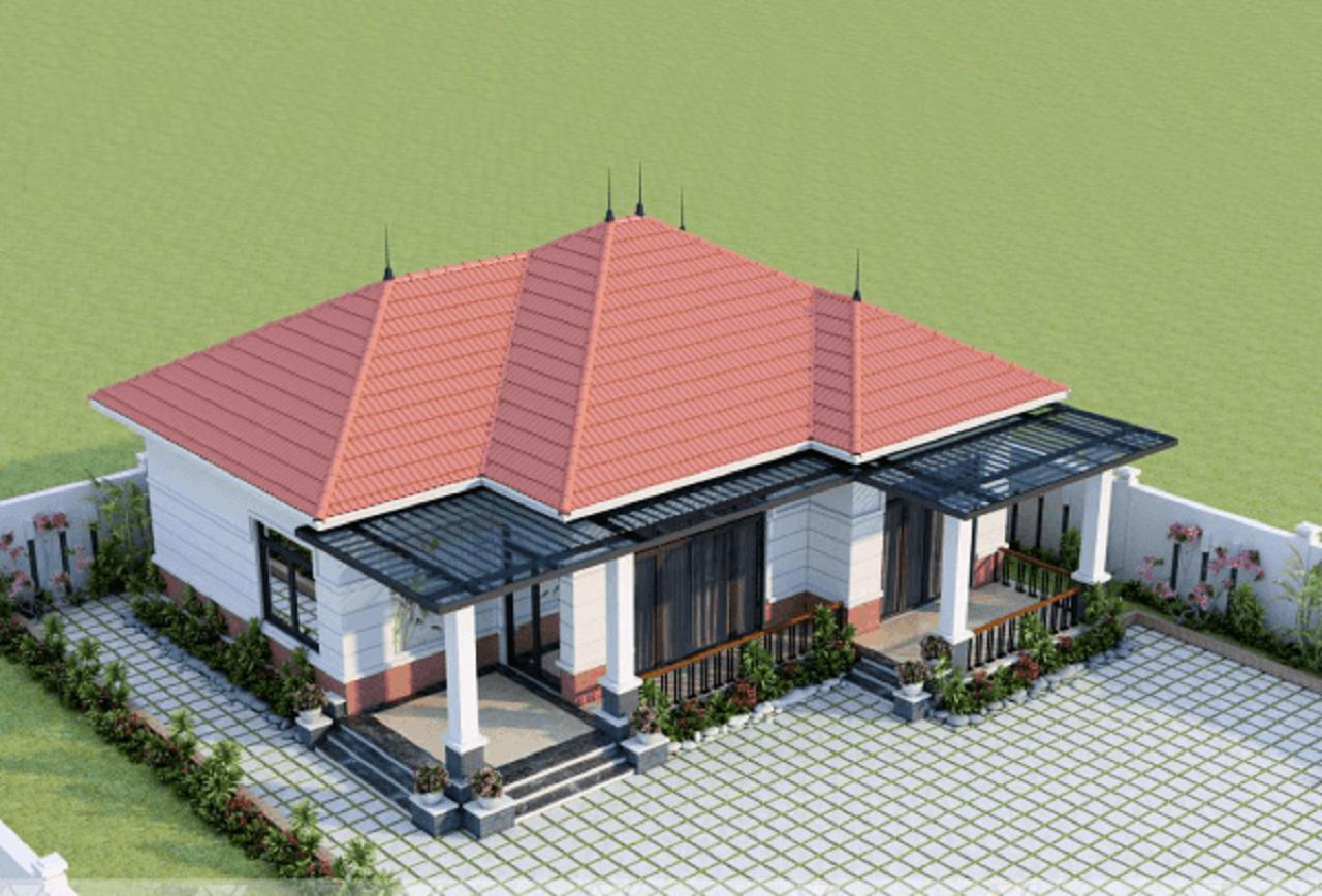 Mẫu thiết kế nhà cấp 4 giúp gia chủ hưởng trọn lộc tài