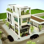 Dự toán chi phí xây nhà 3 tầng 6x12m hết bao nhiêu tiền?